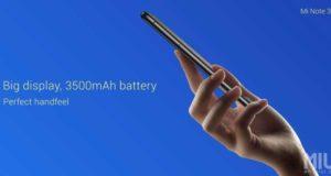 Xiaomi Mi Note 3 получил неплохой аккумулятор с возможностью быстрой зарядки