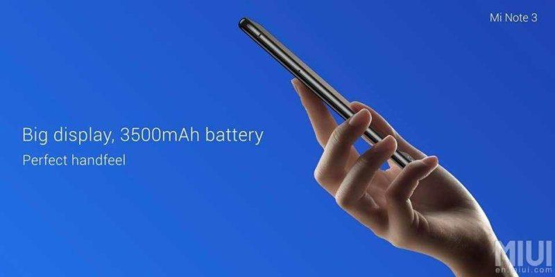 Photo of Xiaomi Mi Note 3 получил неплохой аккумулятор с возможностью быстрой зарядки