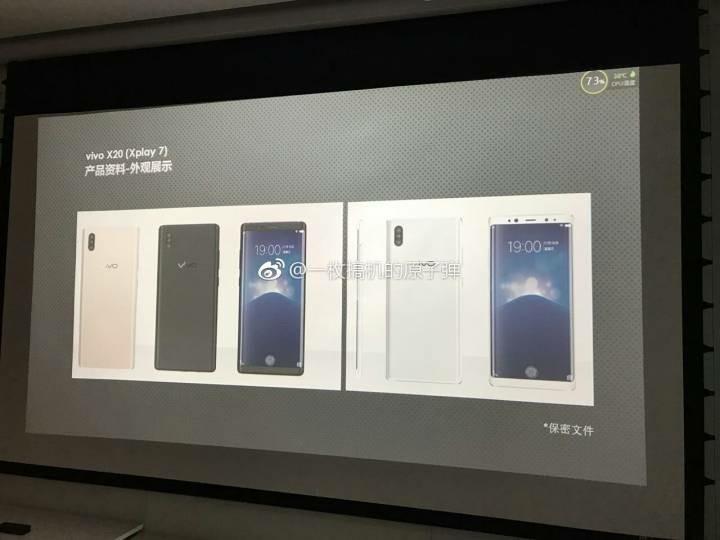 Vivo Xplay 7 первым получит экранный сканер отпечатков пальцев и тройную камеру