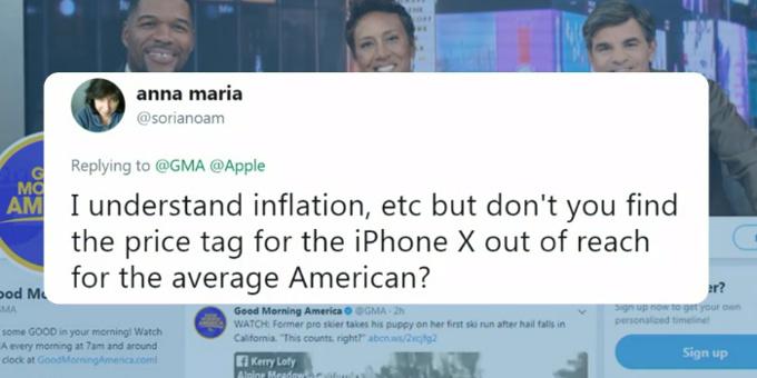 Photo of Тим Кук назвал $1000 справедливой ценой для iPhone X