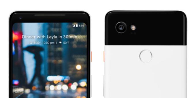 Google озвучила цены и дату выхода Pixel 2 и Pixel 2 XL