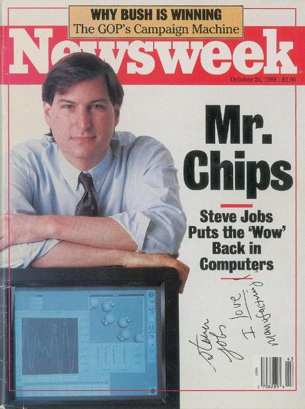 Apple-1 и автограф Стива Джобса выставили на аукцион