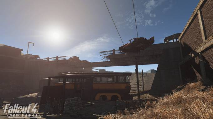 Первое геймплейное видео Fallout 4: New Vegas