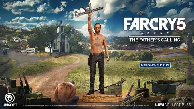 Открылся предзаказ на фигурку главного антагониста из Far Cry 5
