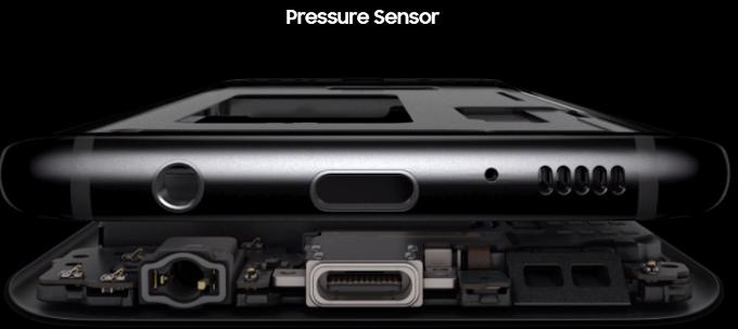 Samsung Galaxy Note 8 получит чувствительный к давлению дисплей
