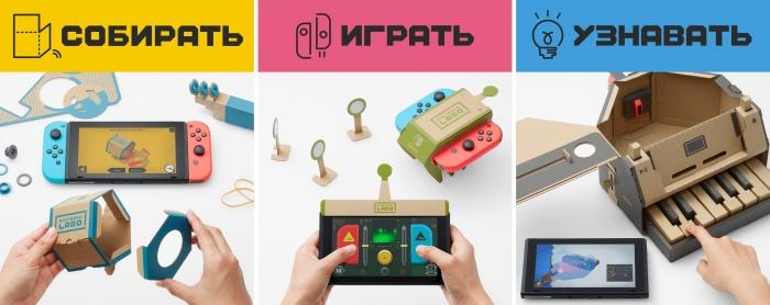 Photo of Nintendo Labo превратит Switch в робота, удочку, фортепиано и многое другое. Нужен лишь картон