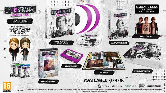 Бонусный эпизод Life is Strange: Before the Storm выйдет в марте вместе с коллекционным изданием