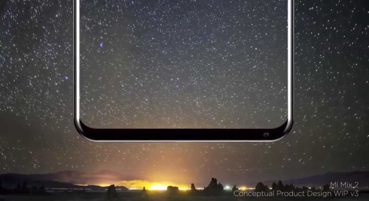 Дизайнер Xiaomi Mi MIX опубликовал видео-тизер Mi MIX 2