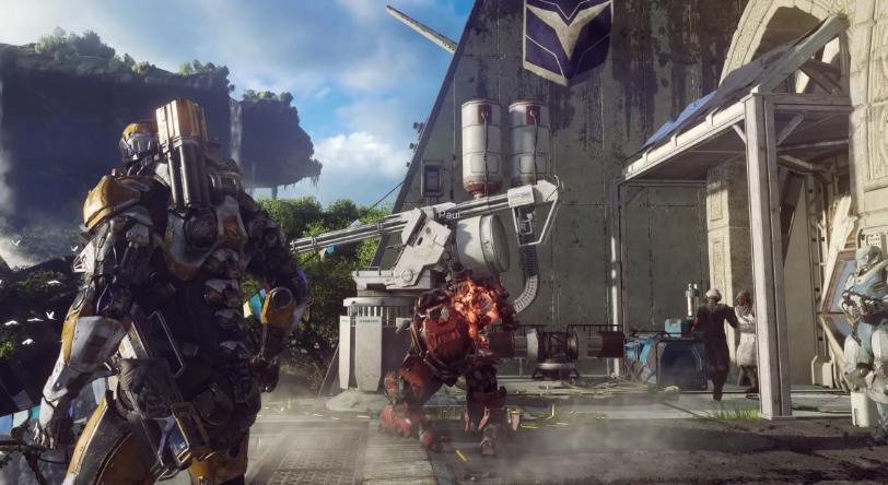 Photo of EA и BioWare тизерят Anthem — целых три секунды из грядущего трейлера!