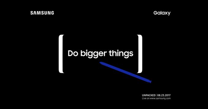 Презентация Samsung Galaxy Note 8 назначена на 23 августа