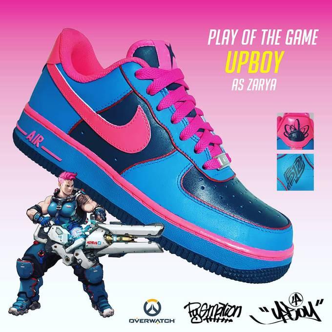 Photo of Серия кроссовок Nike в стиле персонажей Overwatch