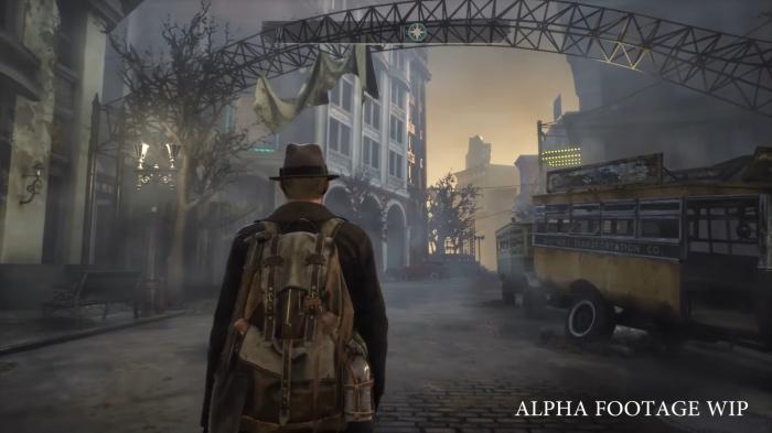 Детектив расследует жуткое преступление в геймплейном демо The Sinking City