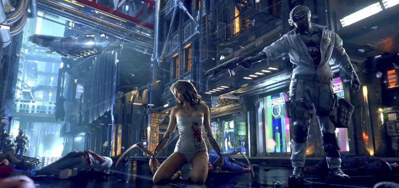 Photo of CD Projekt RED показала почти час геймплея Cyberpunk 2077