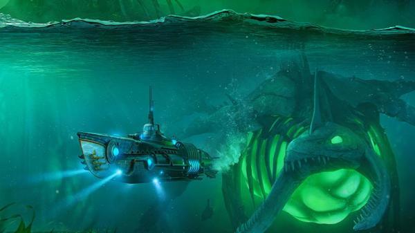 Впервые в World of Warships - подводные лодки