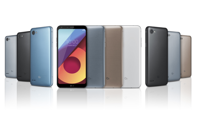 LG Q6 с безрамочным дизайном официально представили в трех вариантах
