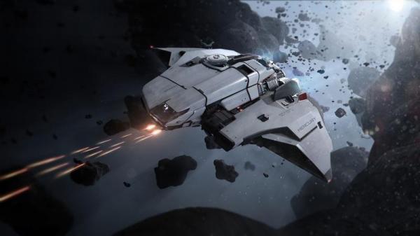 Photo of Игрок Star Citizen поймал своего друга, падающего к поверхности планеты из верхних слоев атмосферы