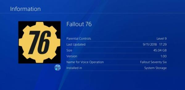 Photo of Патч первого дня для Fallout 76 весит больше самой игры