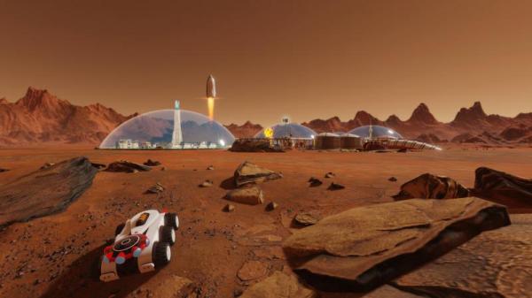 Объявлена дата релиза дополнения Space Race для Surviving Mars