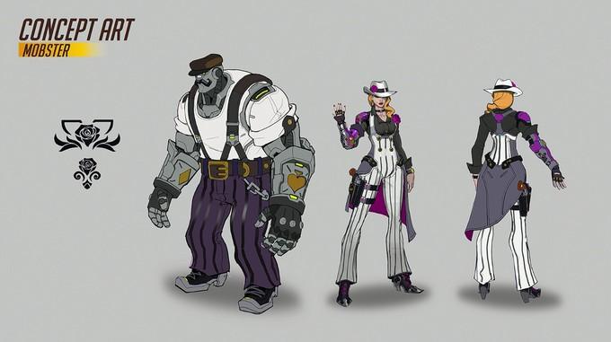 Blizzard опубликовала концепт-арты Элизабет Эш из Overwatch