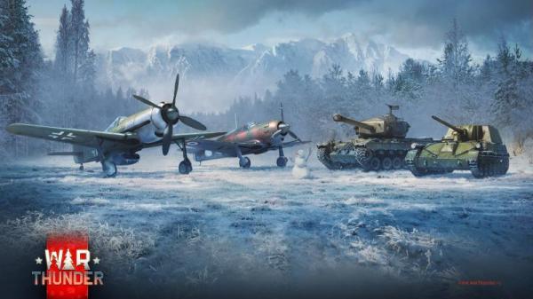 В War Thunder началось «Новогоднее приключение»