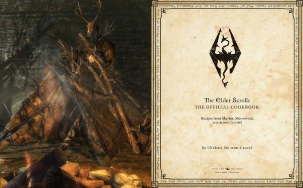 Книга рецептов из The Elder Scrolls научит вас готовить сладкий рулет