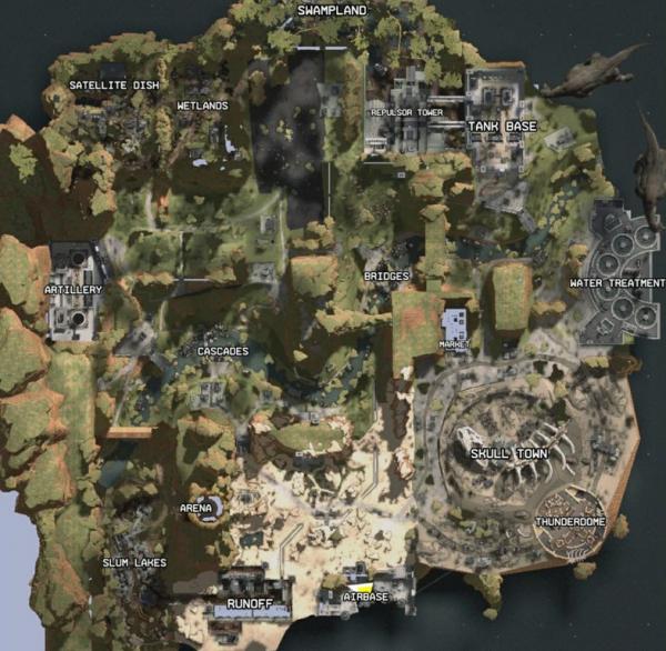 Первые скриншоты, отрывки геймплея и слитая карта Apex Legends0