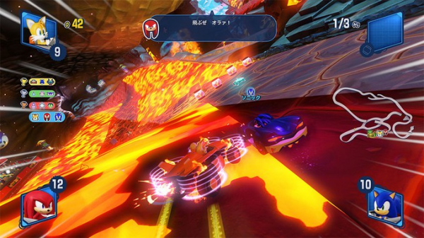 Photo of Вулканическая трасса на новых скриншотах Team Sonic Racing