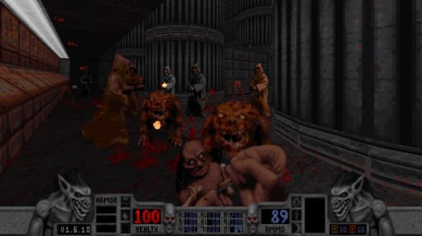 16 скриншотов из грядущего переиздания шутера Blood9