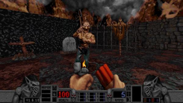 16 скриншотов из грядущего переиздания шутера Blood2