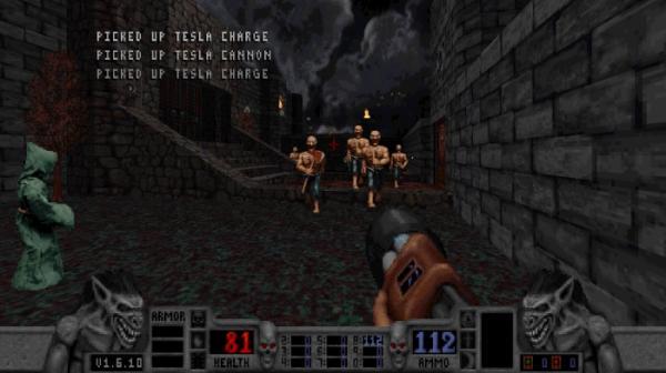 16 скриншотов из грядущего переиздания шутера Blood11