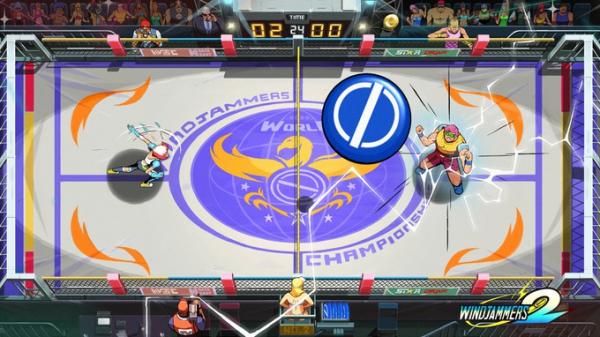 Дебютный геймплей спортивной аркады Windjammers 21