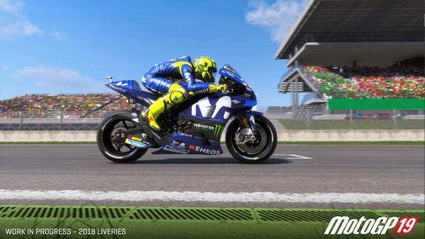 Дебютный трейлер мотосимулятора MotoGP 190