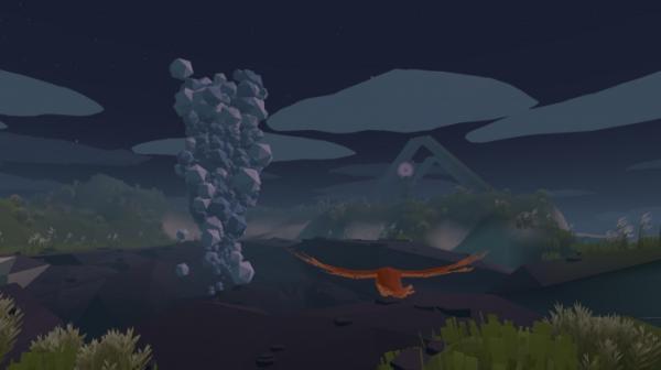 На PC и Switch вышла Feather — созерцательная игра про полёт птицы1