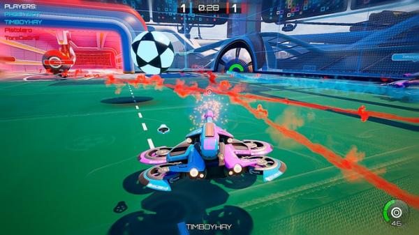 Rocket League со стрельбой — Axiom Soccer доступа бесплатно в Steam1