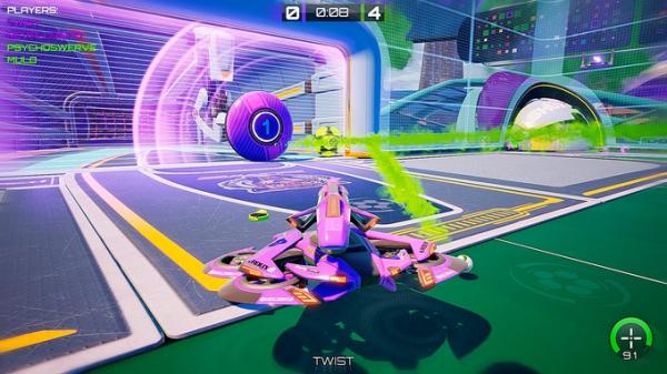 Rocket League со стрельбой — Axiom Soccer доступа бесплатно в Steam4