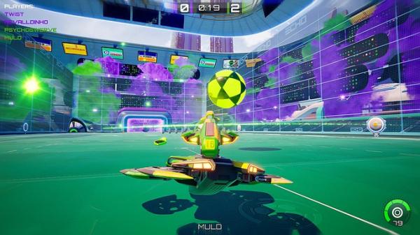 Rocket League со стрельбой — Axiom Soccer доступа бесплатно в Steam3