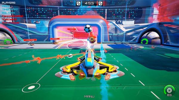Rocket League со стрельбой — Axiom Soccer доступа бесплатно в Steam2