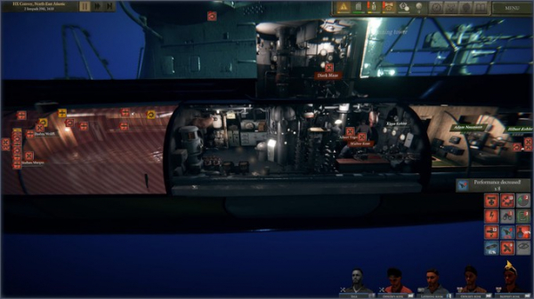 Симулятор подводника Uboat вышел в Раннем доступе Steam5