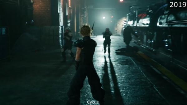 Сравнение двух версий ремейка Final Fantasy VII — из 2015-го и 2019-го5