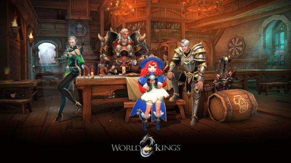 В App Store и Google Play вышла World of Kings — масштабная MMORPG с PvP и подземельями4