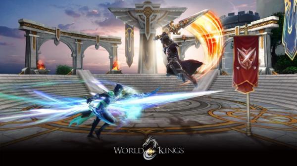 В App Store и Google Play вышла World of Kings — масштабная MMORPG с PvP и подземельями10