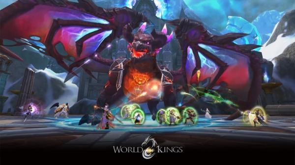 В App Store и Google Play вышла World of Kings — масштабная MMORPG с PvP и подземельями13
