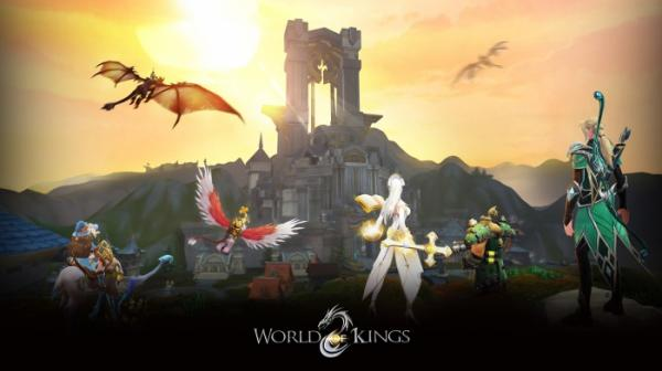 В App Store и Google Play вышла World of Kings — масштабная MMORPG с PvP и подземельями7