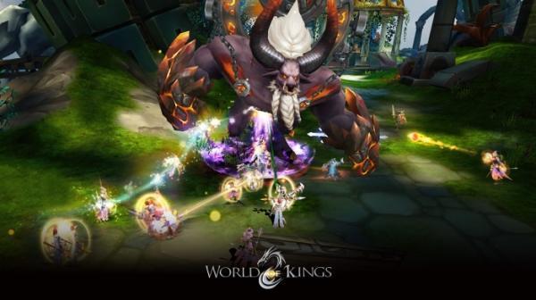 В App Store и Google Play вышла World of Kings — масштабная MMORPG с PvP и подземельями15
