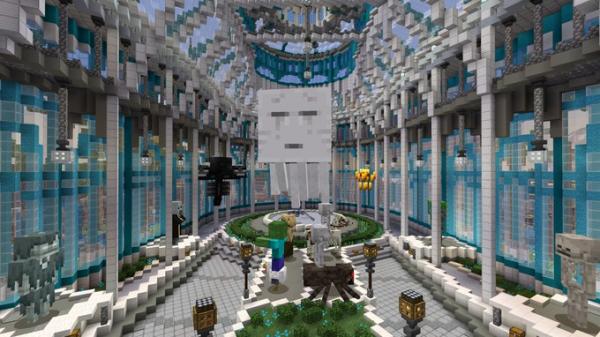 В Minecraft появилась юбилейная карта-музей1