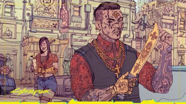 Photo of Банды Cyberpunk 2077 на официальных стилбук-артах от deathburger
