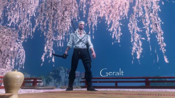 Геральт, 2B и Скорпион — мод для Sekiro: Shadows Die Twice с 25 разными скинами0