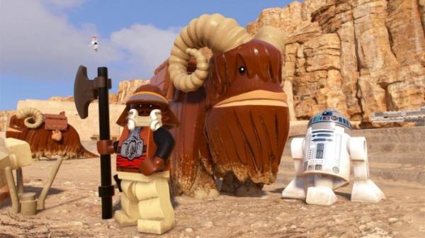 Несколько открытых миров, случайные события и камера за спиной — инновации в LEGO Star Wars: The Skywalker Saga5
