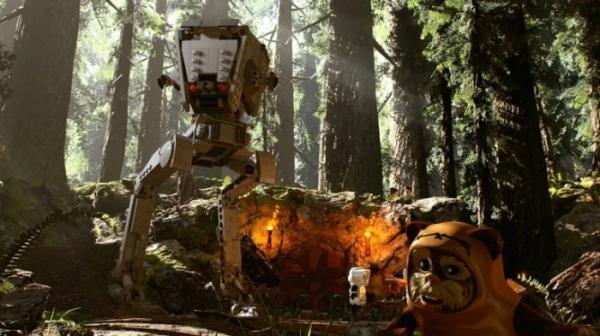 Несколько открытых миров, случайные события и камера за спиной — инновации в LEGO Star Wars: The Skywalker Saga1