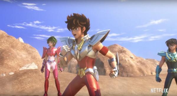 Дебютный трейлер CG-аниме